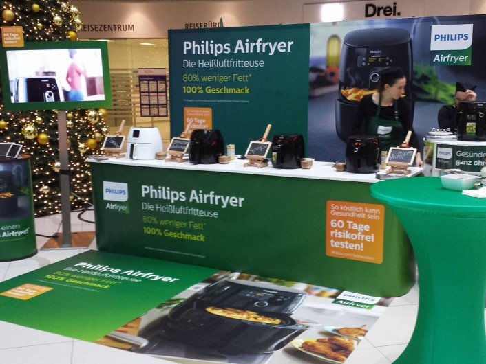 philips-airfryer-messestand